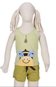 Baby doll nadador infantil em malha R36.A