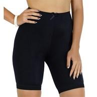 Bermuda modeladora cintura alta em lycra lisa com lacinho P09