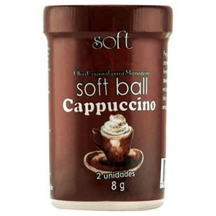 Bolinha Comestível Soft Ball Cappuccino S268