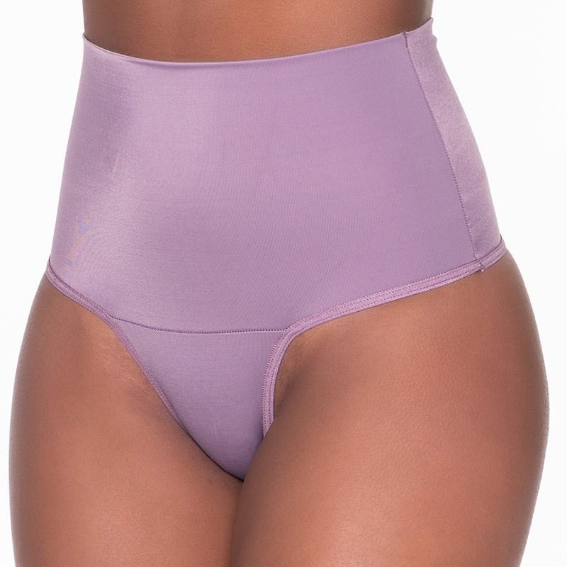 Calça cinta plus size em citinete liso com pala larga AA01.A UVA