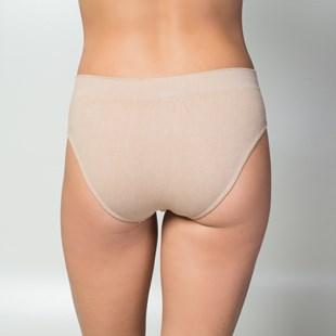 Calça conforto em algodão liso sem costura A54.D