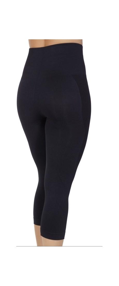 Calça corsário modeladora conforto fitness sem costura V59.C
