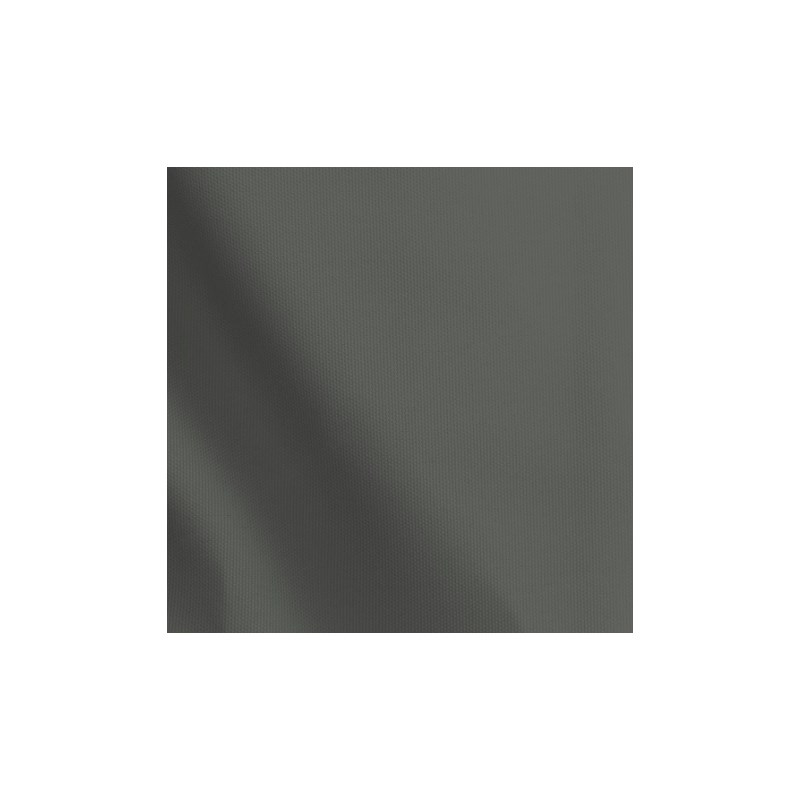 Calça em microfibra lisa com cintura alta e cós dobrado A76.A GRAFITE