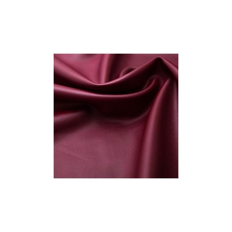 Calcinha básica em cotton liso com elástico exposto B68 VINHO