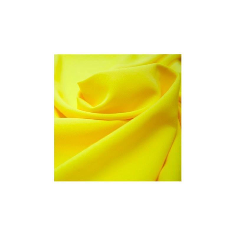 Calcinha básica em cotton liso com elástico exposto B68 AMARELO