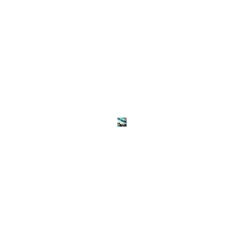 Calcinha básica em microfibra estampada com lacinho B24.B VERDE ÁGUA VARIADO