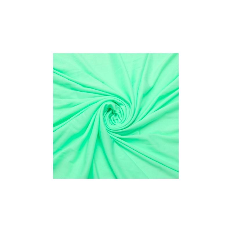Calcinha básica em microfibra perolada com lacinho em cetim B86.B VERDE CLARO