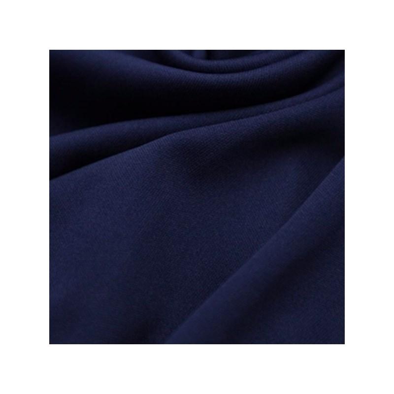 Calcinha em algodão liso com lacinho e elástico exposto B235 AZUL MARINHO