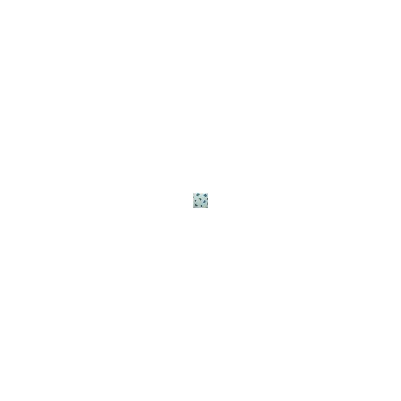 Calcinha em microfibra estampada com renda e lacinho B166.A AZUL ESCURO VARIADO