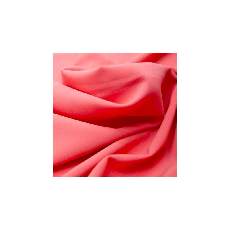 Calcinha Fio em Microfibra Mesclada com Cós Color Elástico Largo Cintura Alta B164.B GOIABA