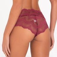 Calcinha Hot Pant em Renda e Microfibra B16.A