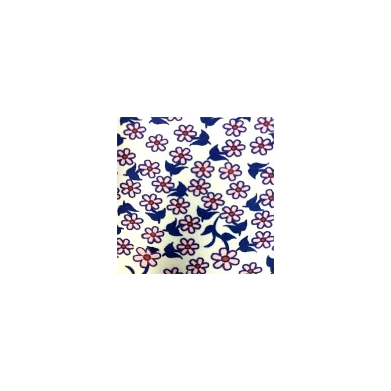 Calcinha Sexy Conforto Tira Lateral em microfibra Detalhe em Renda e Lacinho F12.B AZUL ESCURO VARIADO