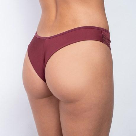 Calcinha Sexy em Microfibra com Detalhe em Renda Fio Duplo B67.D