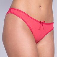 Calcinha Sexy em Microfibra e Renda com Detalhe de Lacinho B25.C