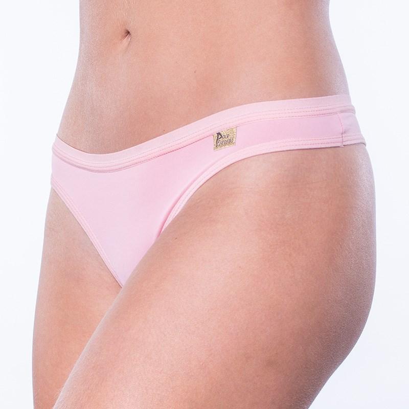 Calcinha Sexy em Microfibra Premium Conforto com Detalhe Corte a Laser F49.D GOIABA
