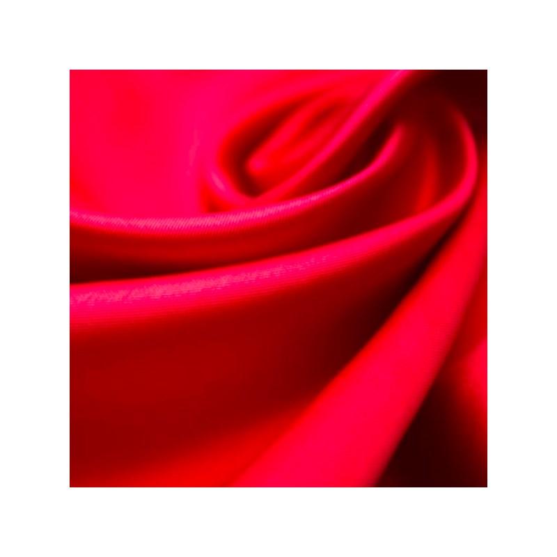 Calçola em Cotton Cintura Alta com Detalhes em Renda e Laço A12.C VERMELHO