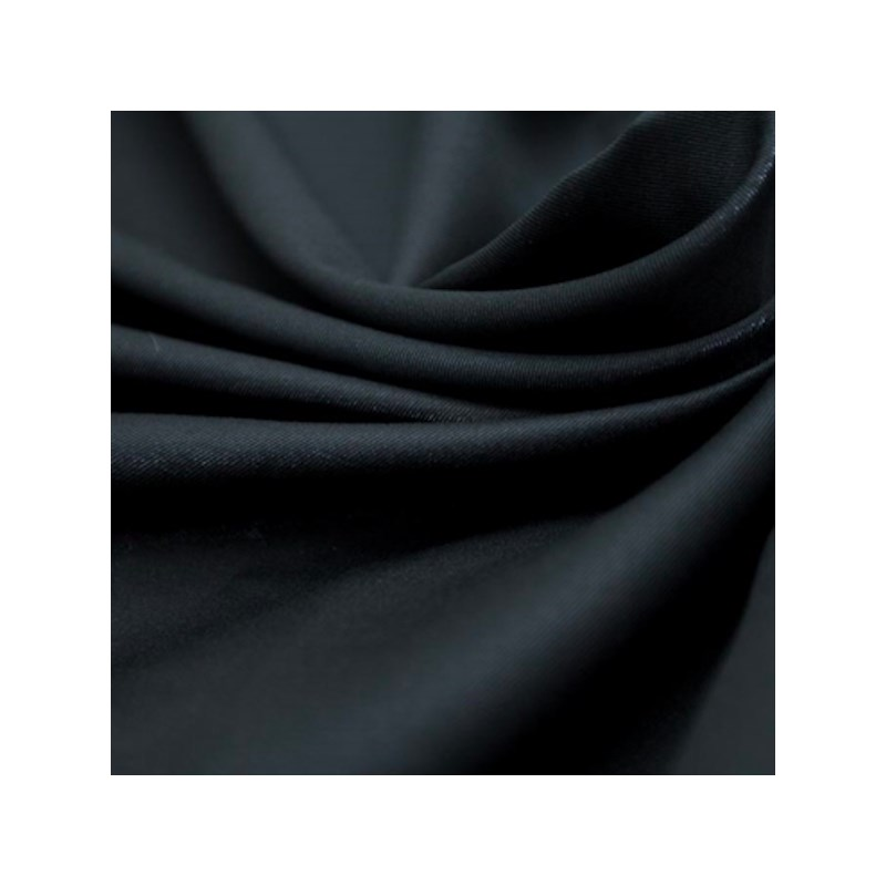 Calçola em Microfibra Costura Três Pontos com Detalhe em Renda e Laço A13.C / PRETO