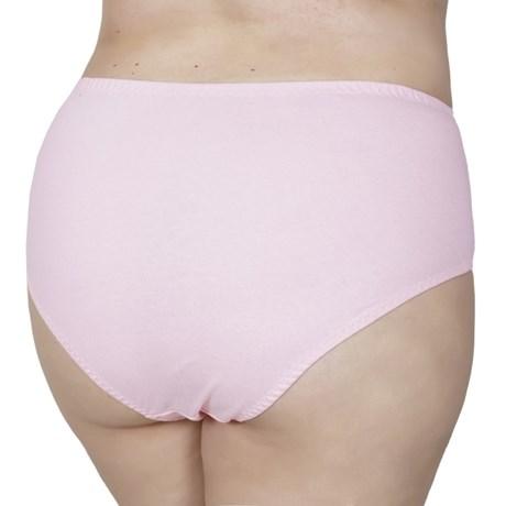 Calçola plus size em algodão liso com viés em elástico embutido AA76.A