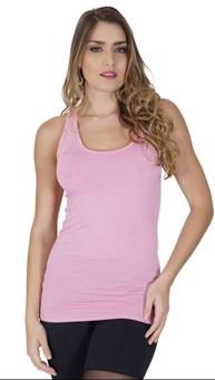 Camiseta fitness nadador em malha lisa com detalhe nas costas V13.B