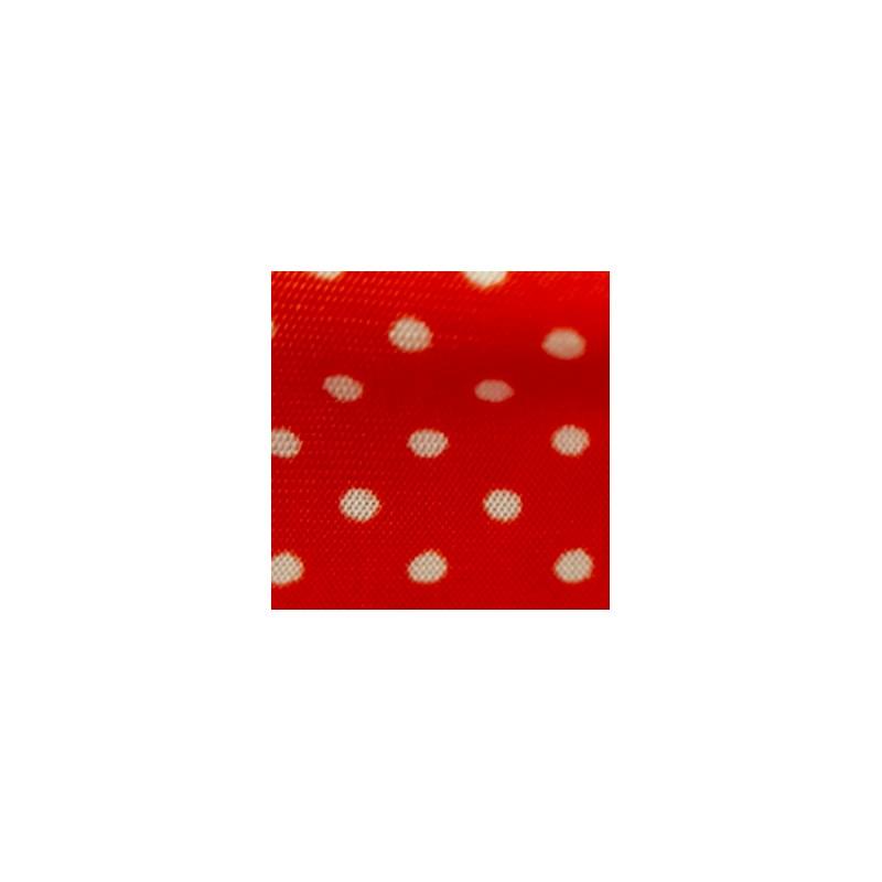 Camisola em Microfibra com Detalhe em Renda e Laço O08.C VERMELHO VARIADO