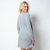 Camisola manga longa em malha lisa com silk L23.B