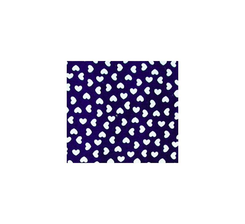 Camisola Sem Bojo em Microfibra Elástico Busto com Detalhe em Renda e Laço O11.C AZUL MARINHO CORAÇÃO