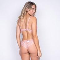 Conjunto com Bojo Todo Rendado Linha Luxo Com Calcinha Sexy K59.E