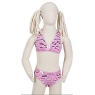 Conjunto infantil nadador em cotton estampado e elástico exposto H16.A