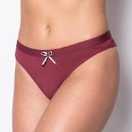 Conjunto lingerie básico em microfibra lisa com laço em cetim K33.A