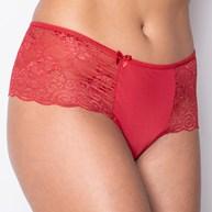 Conjunto lingerie cropped luxo em renda com alças cruzadas U10.A