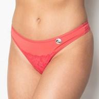 Conjunto lingerie em microfibra com renda lisa e lacinho em cetim K24.E