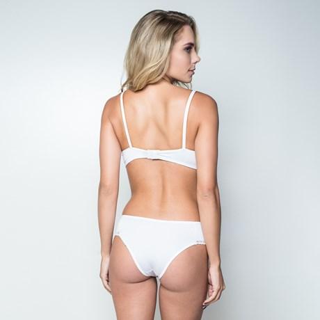 C Conjunto lingerie em microfibra lisa e detalhe em renda elástica K153. 5fd5fb04dfe