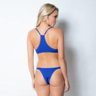 Conjunto lingerie nadador em microfibra texturizada com lacinho K36.E