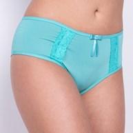 Conjunto lingerie reforçado em microfibra com detalhes em renda K45.C