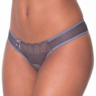 Conjunto lingerie tradicional em renda lisa com lacinho em cetim K171.D