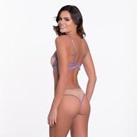 Conjunto Sem Bojo Super Sexy em Tule e Renda U01.C