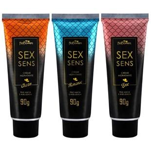 Creme Hidratante Sex Sens Corporal Pele Macia e Aveludada 90g S327