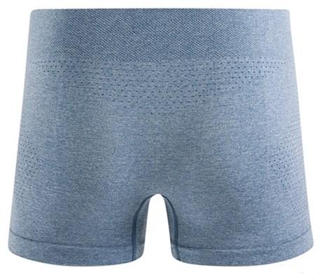 Cueca boxer conforto em microfibra sem costura e elástico exposto D38.B