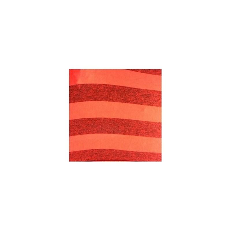 Cueca boxer em microfibra listrada com elástico exposto D89.A VERMELHO