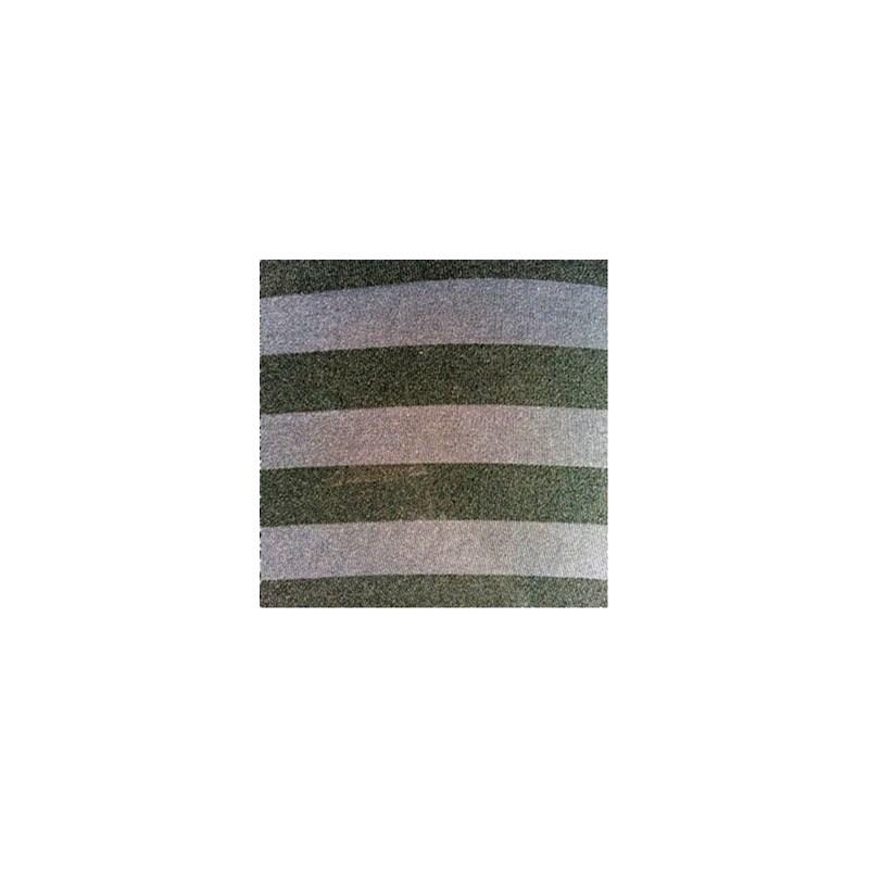 Cueca boxer em microfibra listrada com elástico exposto D89.A PRETO