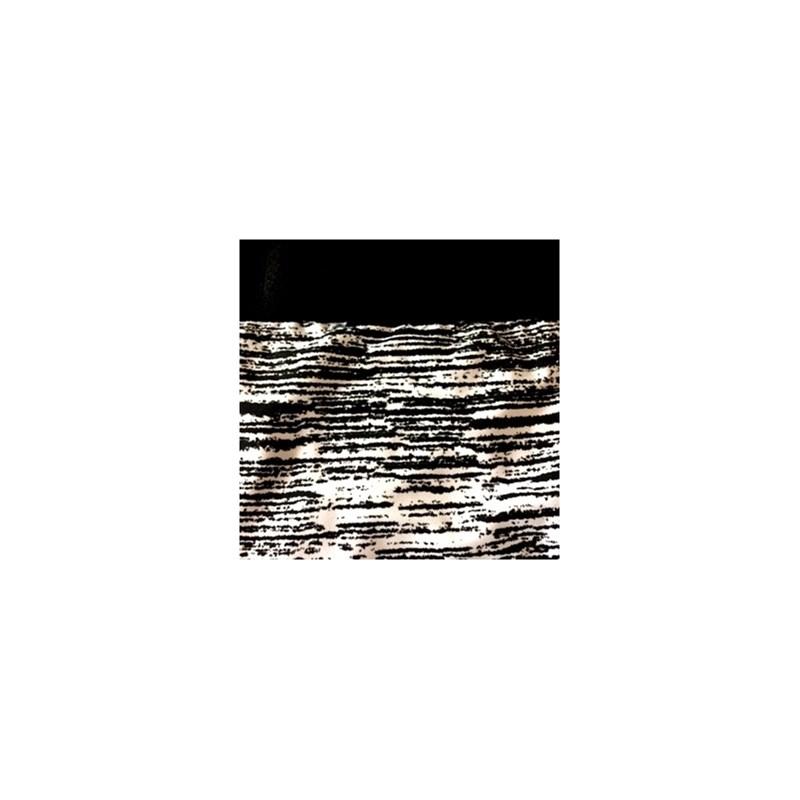 Cueca boxer em microlight estampado com elástico exposto D68.B PRETO VARIADO