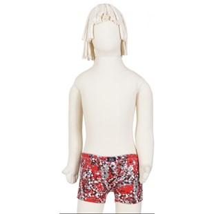 Cueca boxer infantil em cotton estampado com elástico embutido E19