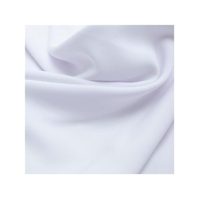 Cueca feminina em microfibra básica lisa com elástico embutido A50.B BRANCO