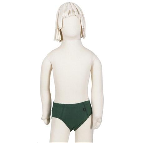 Cueca slip Infantil em algodão liso com cós embutido E04