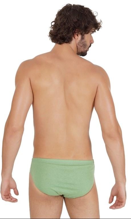Cueca Slip masculina em Malha lisa com Elástico Embutido D27