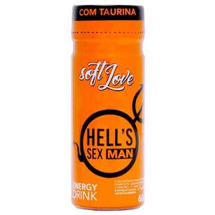 Energético Super Excitante Masculino Hells Sex Man S175