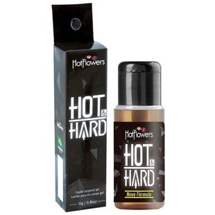 Gel Excitante Masculino Hot e Hard S239