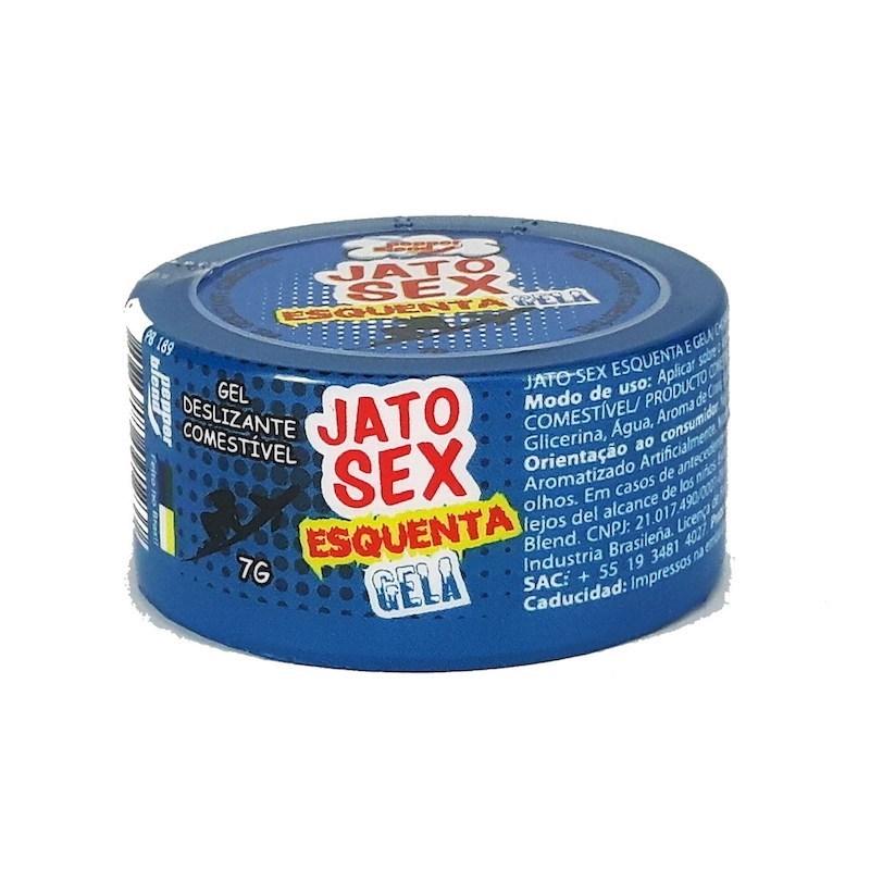 Gel Jato Sexy Esquenta e Gela Comestível S48.F