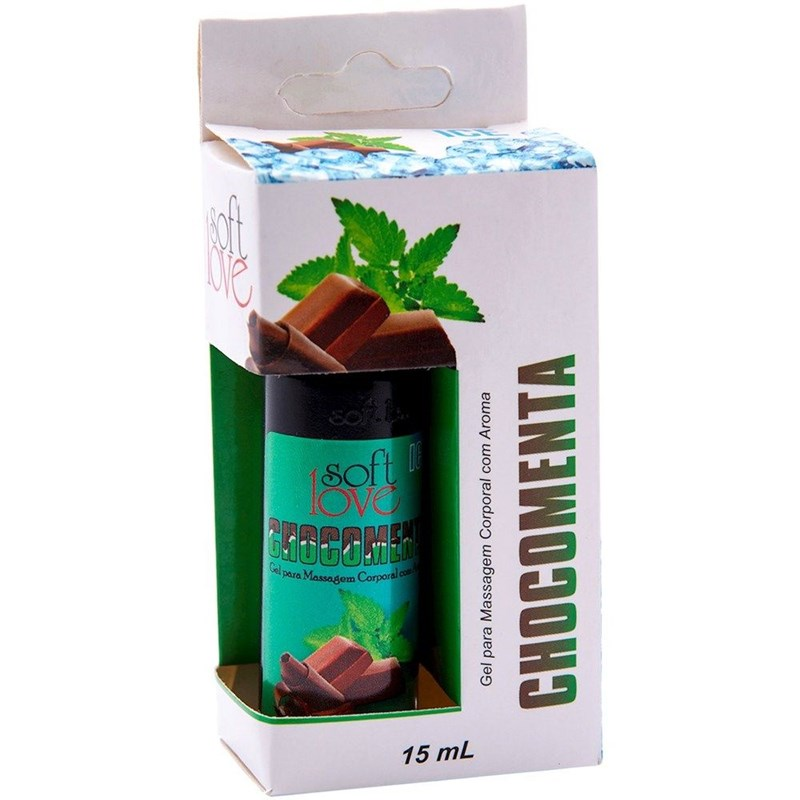 Gel Para Massagem Comestível Ice Esfria 15ML S61.C CHOCOMENTA