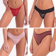 Kit 4 Lingerie com Descontos Super Atacado